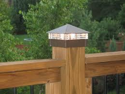 popular solar lights for deck posts design solar lights for deck