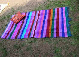 Outdoor Rug Cheap by Buy Blue Colorful Outdoor Rug Cheap Area Rug Indian Dhurri