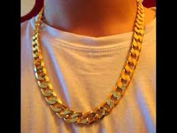gold man chain necklace images 510 cts 18k yellow gold filled men 39 s 23 75 quot high quality classy jpg