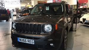 jeep renegade blue interior 2017 jeep renegade exterior and interior review youtube