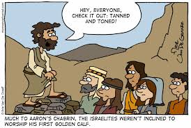 mormon cartoonist golden calf