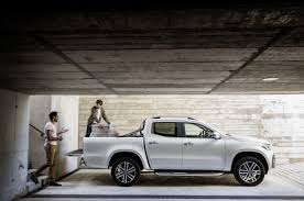 renault alaskan vs nissan navara x class mercedes benz u0027s luxury spin on a new mid sized pickup