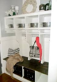 Mudroom Entryway Ideas Remodelaholic Diy Entryway Mudroom With Cubbies For Under 150