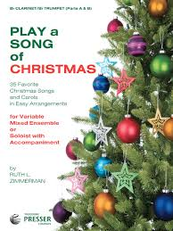 play a song of christmas sheet music by various sheet music plus