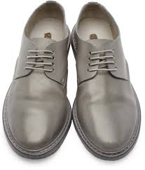 marsell boots wholesale marsèll grey leather calce derbys men