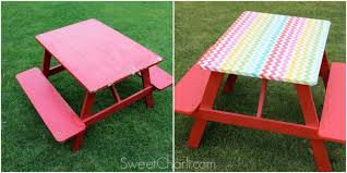 picnic table cover set easy picnic table redo