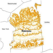 Nassau Map Contours Albany