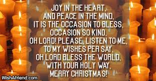 joy in the heart famous christmas poem
