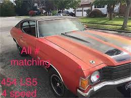 Chevelle Ss Price 1972 Chevrolet Chevelle Ss For Sale On Classiccars Com 9 Available