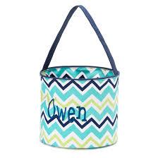 easter buckets monogrammed easter baskets personalized easter baskets bentley