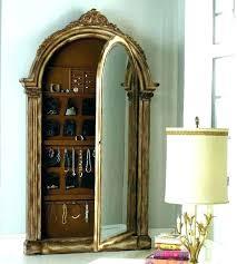 jewelry armoire full length mirror floor length mirror jewelry armoire akapello com