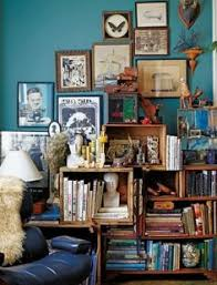 Crates For Bookshelves - stacked wine boxes as bookshelves a beautiful mess nesting