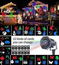 Projector Christmas Lights Laser Projector Ebay