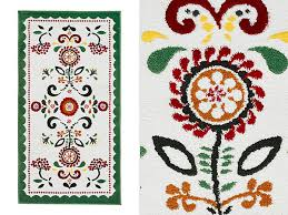 Floral Pattern Rugs Decoration Flower Pattern Cheer Your House Up With These Flowery