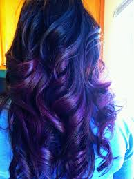 healthy hair is beautiful hair dark brown haircolor w purple