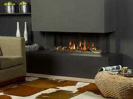 Gas Fireplace Flue by Trimline 120 Panoramic Balanced Flue Gas Fireplace Bluegecko