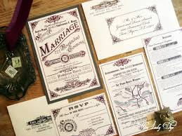 vintage wedding invitation 100 vintage wedding invitations steunk wedding