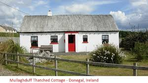 Thatched Cottage Ireland by Wild Atlantic Way Donegal Mullaghduff Thatched Cottage On The