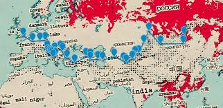 World Map With Mountain Ranges by Mountainsmith Blog Four American Lads 10 000 Miles 8 Timezones
