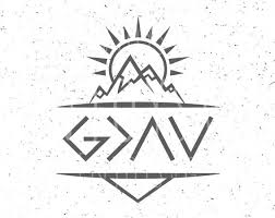 god is greater than the highs and lows svg god is greater