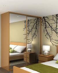 glass mirror closet doors bedroom new design captivating white wardrobe with slidding