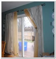 Window Treatment Ideas For Patio Doors Innovative Curtain Ideas For Patio Doors Sliding Door Curtains In