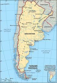 physical map of argentina argentina britannica homework help