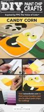 Halloween Arts Crafts by 46 Best Halloween Paint Chip Diy Crafts Images On Pinterest