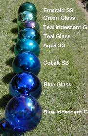 blown gazing globes another name for my blue