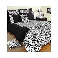 Zebra Print Duvet Cover Buy Black U0026 White Zebra Print Duvet Covers Comforters U0026 Quilts