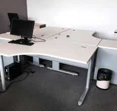 bureau d occasion bureau d angle professionnel grand bureau dangle professionnel