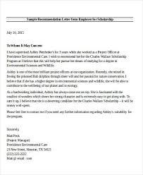 recommendation letter for an organization infoletterscoemployer