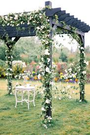 wedding arbor used wedding ceremony arbor and backdrop ideas pinkous