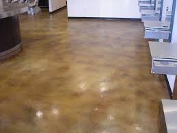 Concrete Kitchen Floor by Stained Concrete Floors Orlando Fl Concrete Polishing