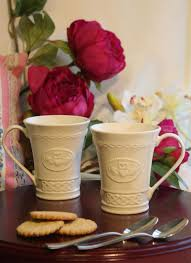 claddagh set belleek claddagh mugs set of 2 4131 skellig gift store