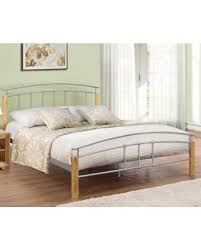 Beech Bed Frames Buy A Metal Bed In Single King Size And King