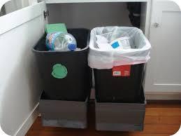 Kitchen Trash Cabinet Kitchen Kitchen Garbage Can Throughout Stylish Kitchen Trash Can