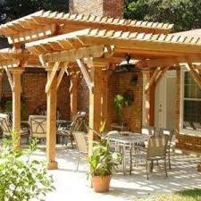 Different Types Of Pergolas by Attached White Pergola Shade Patio Ideas Shade Patio Ideas