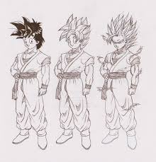 dragonball apex goten form chart revision by grinningsorrow on