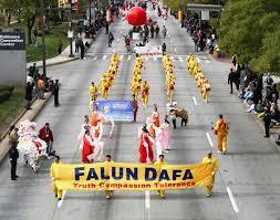 maryland practitioners display of falun dafa at