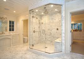 Decorating Ideas For Master Bathrooms Master Bathroom Showers For Raincreative Design For Double