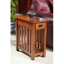 mission style end tables have to have it leick solid ash mission chairside end table 199 99