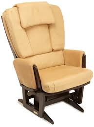 Rocking Chair Dutailier Furniture Comfortable Beige Glider Chair With Beige Ottoman And