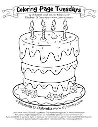best photos of large birthday cake coloring sheet birthday cake