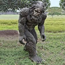 lifesize bigfoot statue the green