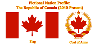 fictional nation profile of the republic of canada by redrich1917