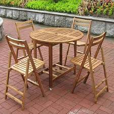 wooden patio table and chairs wooden patio furniture outdoor wood furniture
