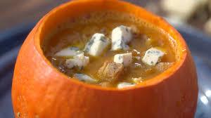 tf1 recettes de cuisine ma recette de soupe de potimarron à la fourme d ambert laurent