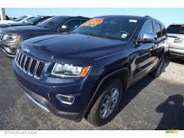 jeep grand true blue pearlcoat 2014 true blue pearl jeep grand limited 80677534