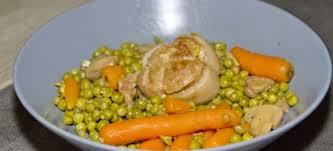 cuisiner des petit pois surgel paupiettes aux petits pois carottes recettes cookeo